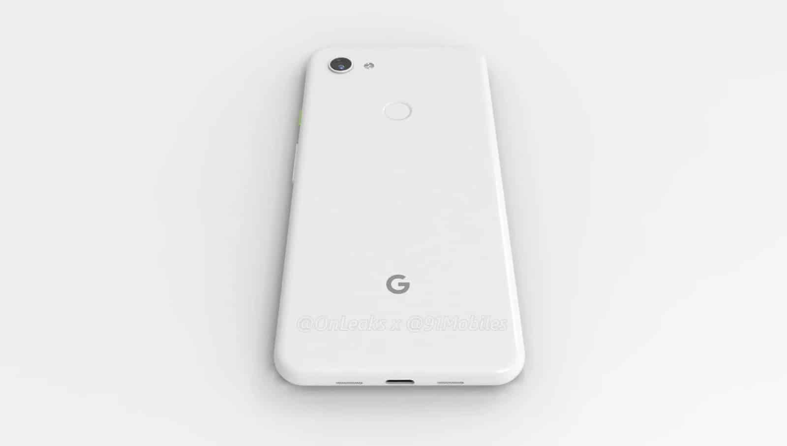 Google Pixel 3 Lite XL render leak 8