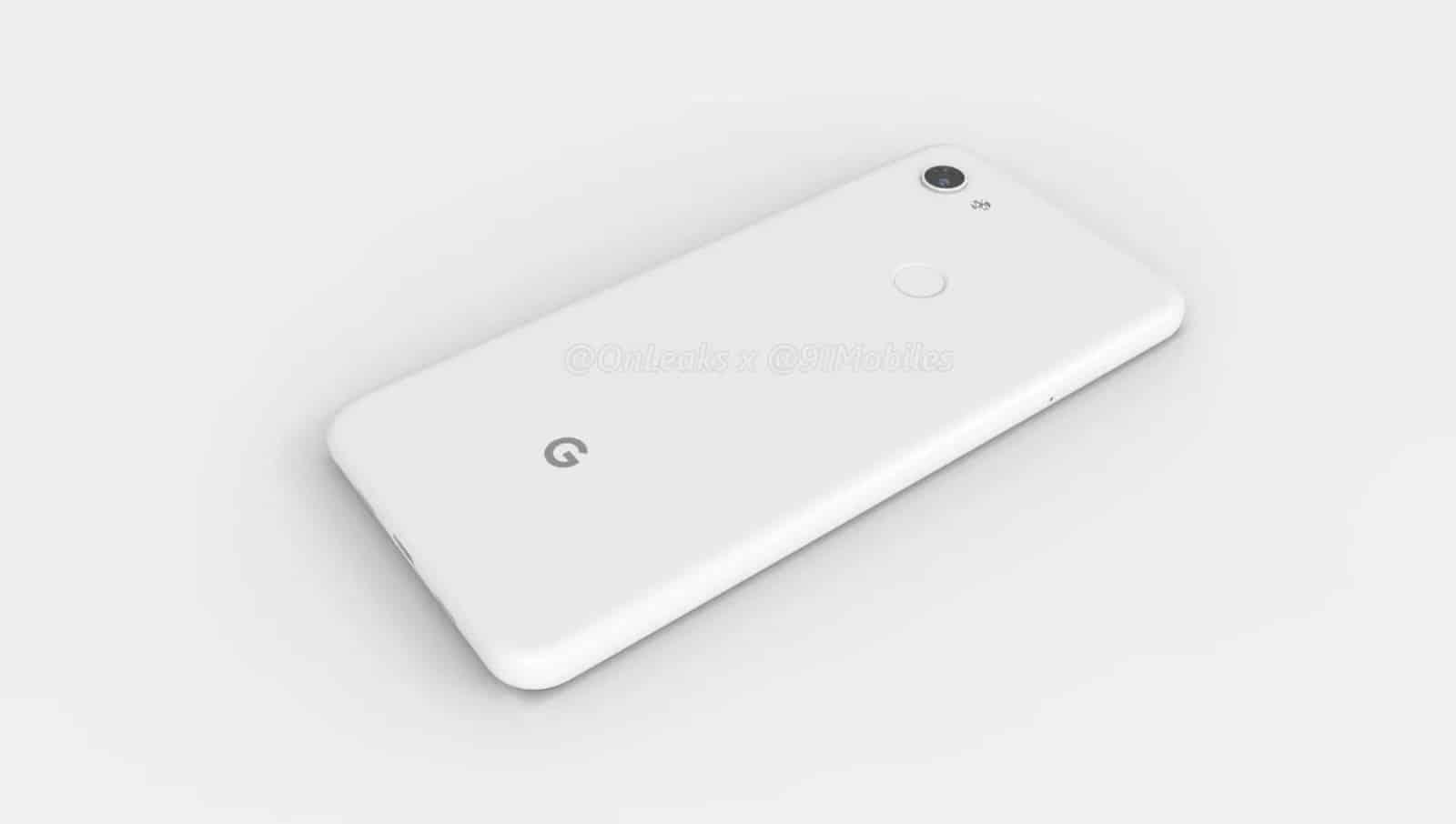 Google Pixel 3 Lite XL render leak 9