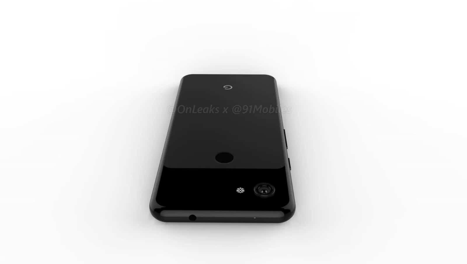 Google Pixel 3 Lite render leak 11