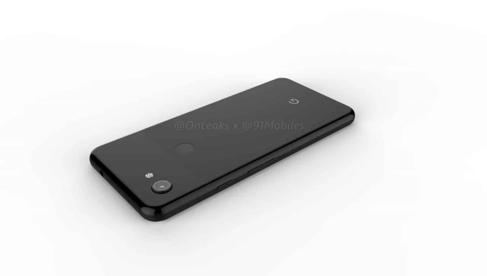 Google Pixel 3 Lite render leak 12