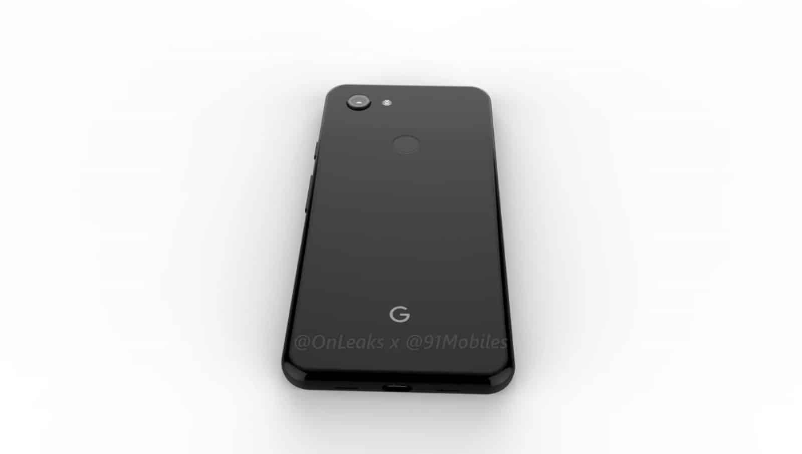 Google Pixel 3 Lite render leak 8