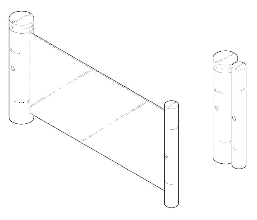 LG Patent US D836 077 S