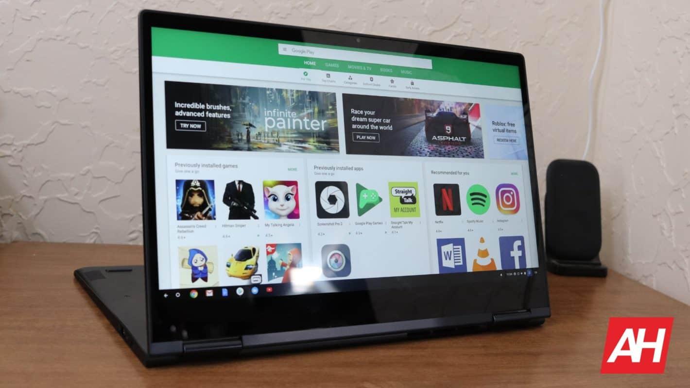 Lenovo Yoga Chromebook C630 Review Software AH