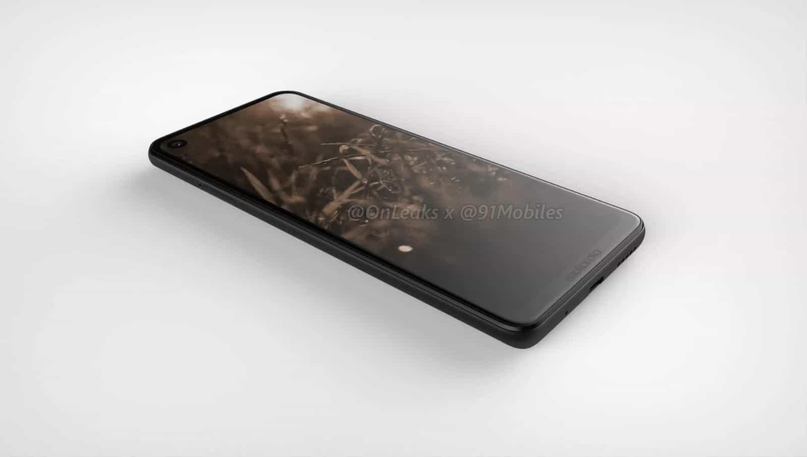 Motorola P40 render leak 1