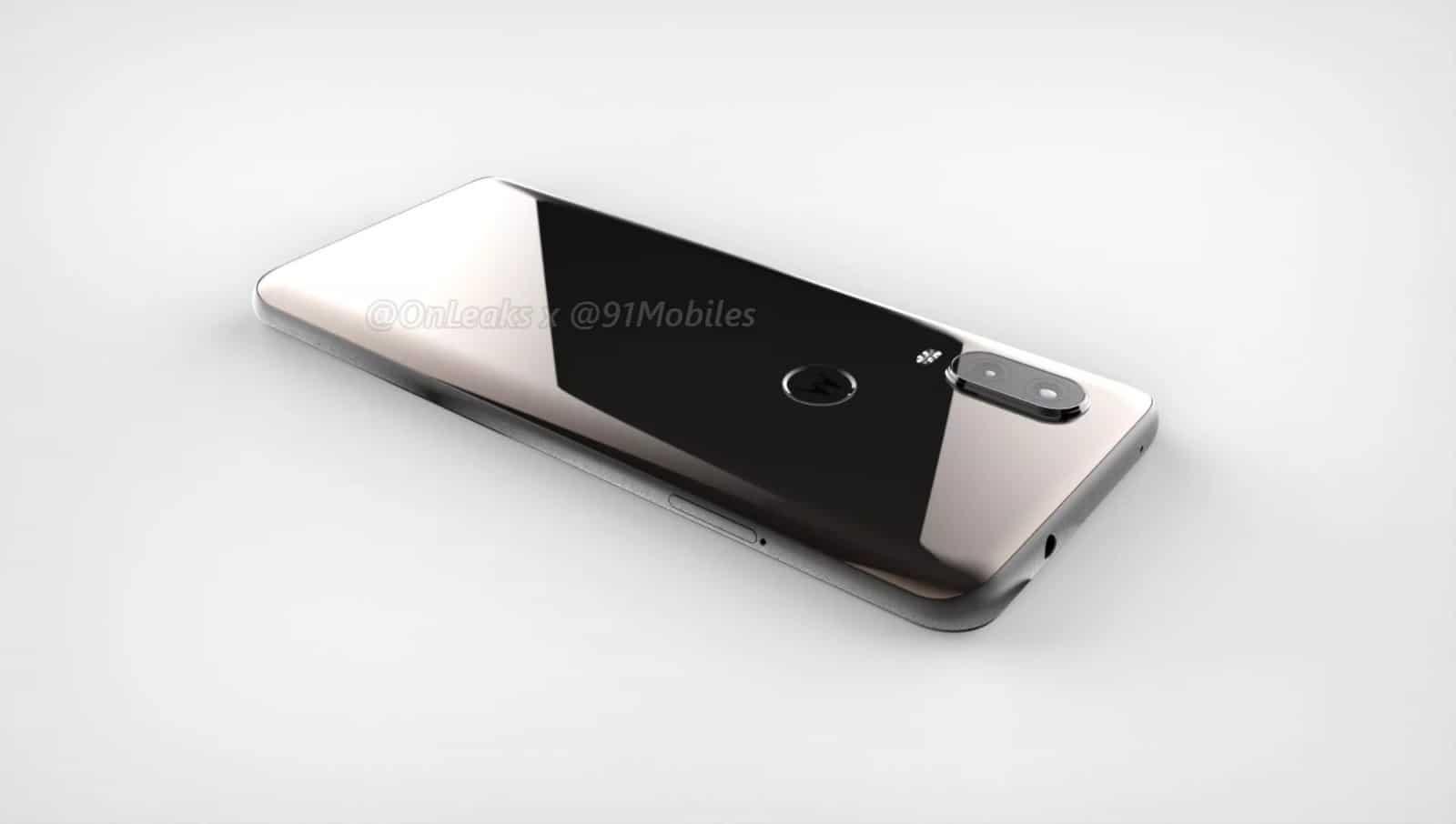 Motorola P40 render leak 10