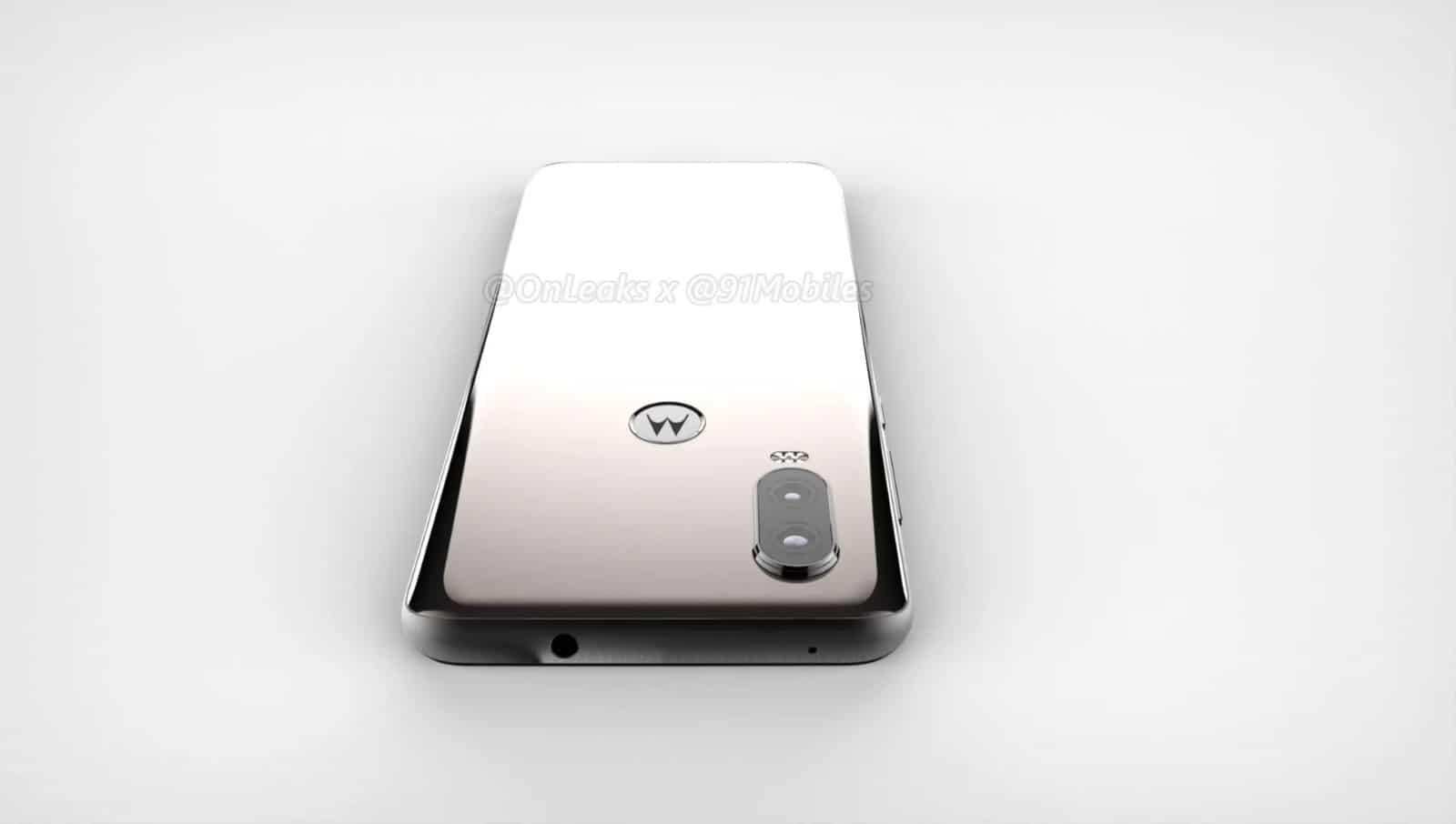 Motorola P40 render leak 11