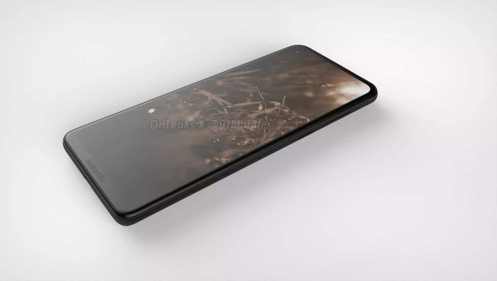 Motorola P40 render leak 3