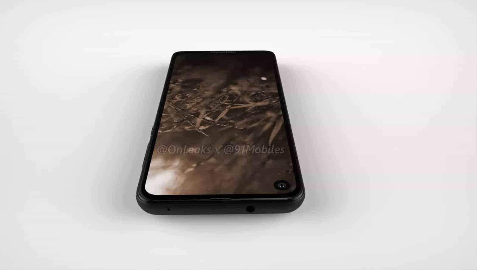 Motorola P40 render leak 5