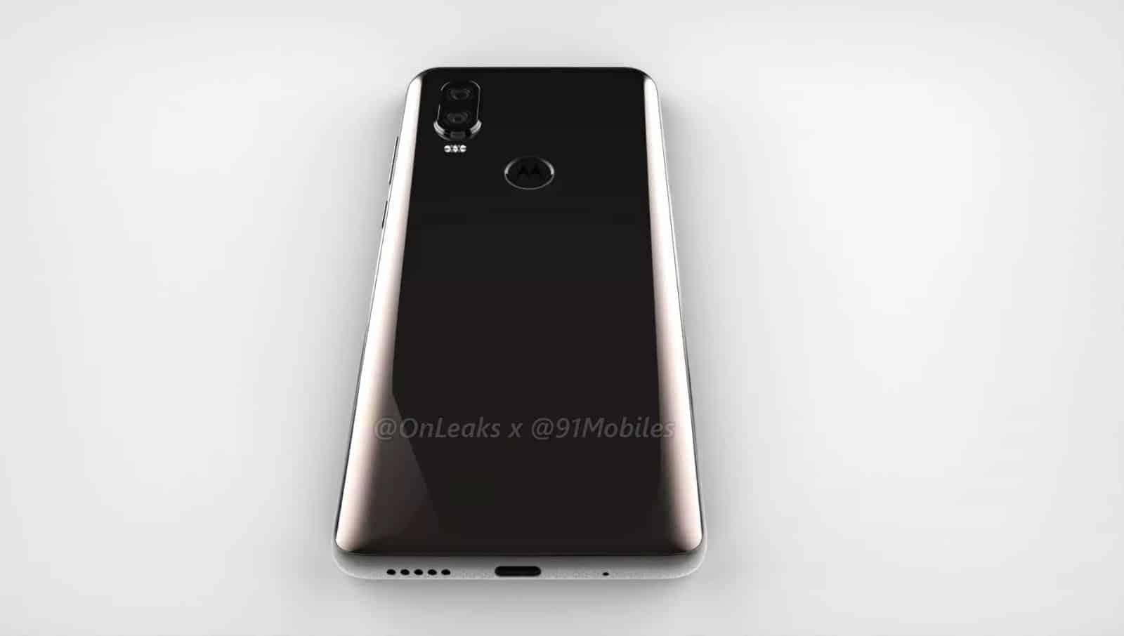 Motorola P40 render leak 8