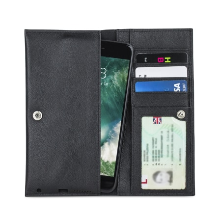 Olixar Primo Genuine Leather Universal Pouch Wallet Case 1