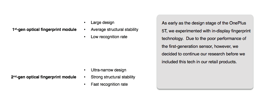 OnePlus 6T Screen Unlock additional info 1