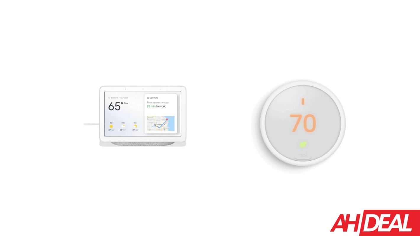 Google Home Hub  U0026 Nest Thermostat E  198