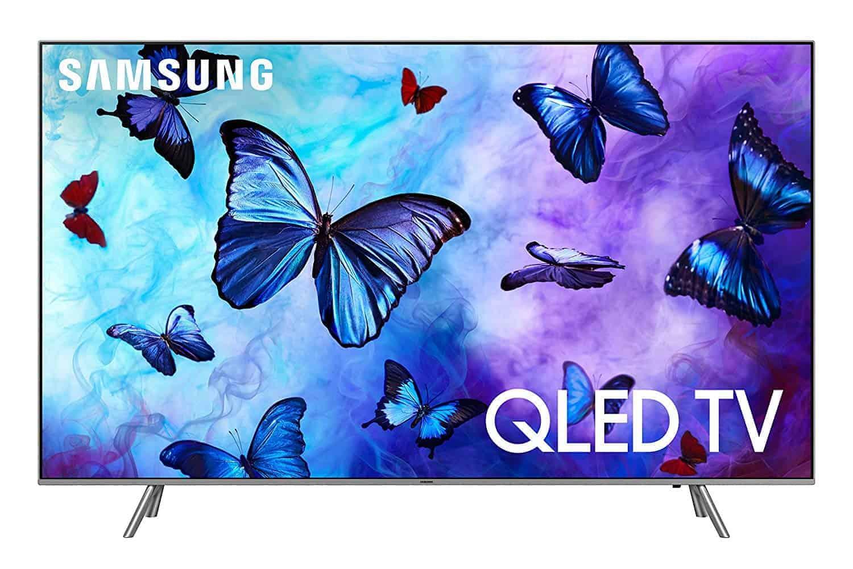 """Samsung QN55Q6F Flat 55"""" QLED 4K TV - Amazon"""