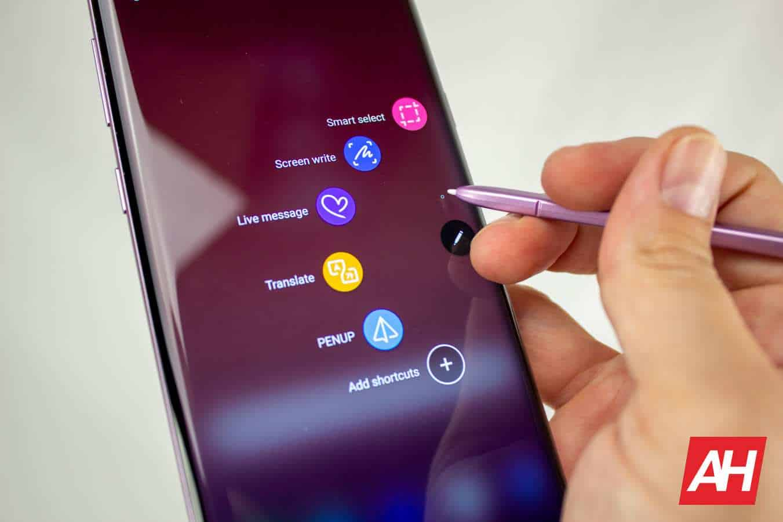 AH 2019 Samsung Galaxy Note 9 08 s pen