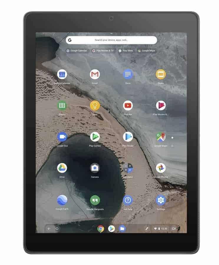 ASUS Chromebook Tablet CT100 1A Dark Grey 1