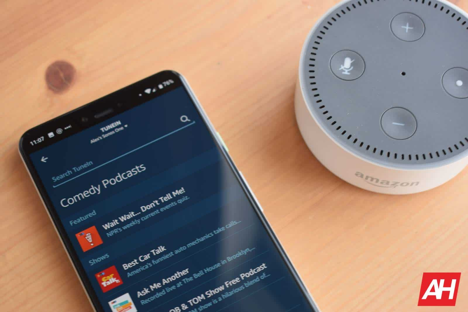Amazon Alexa Podcasts AM AH 1