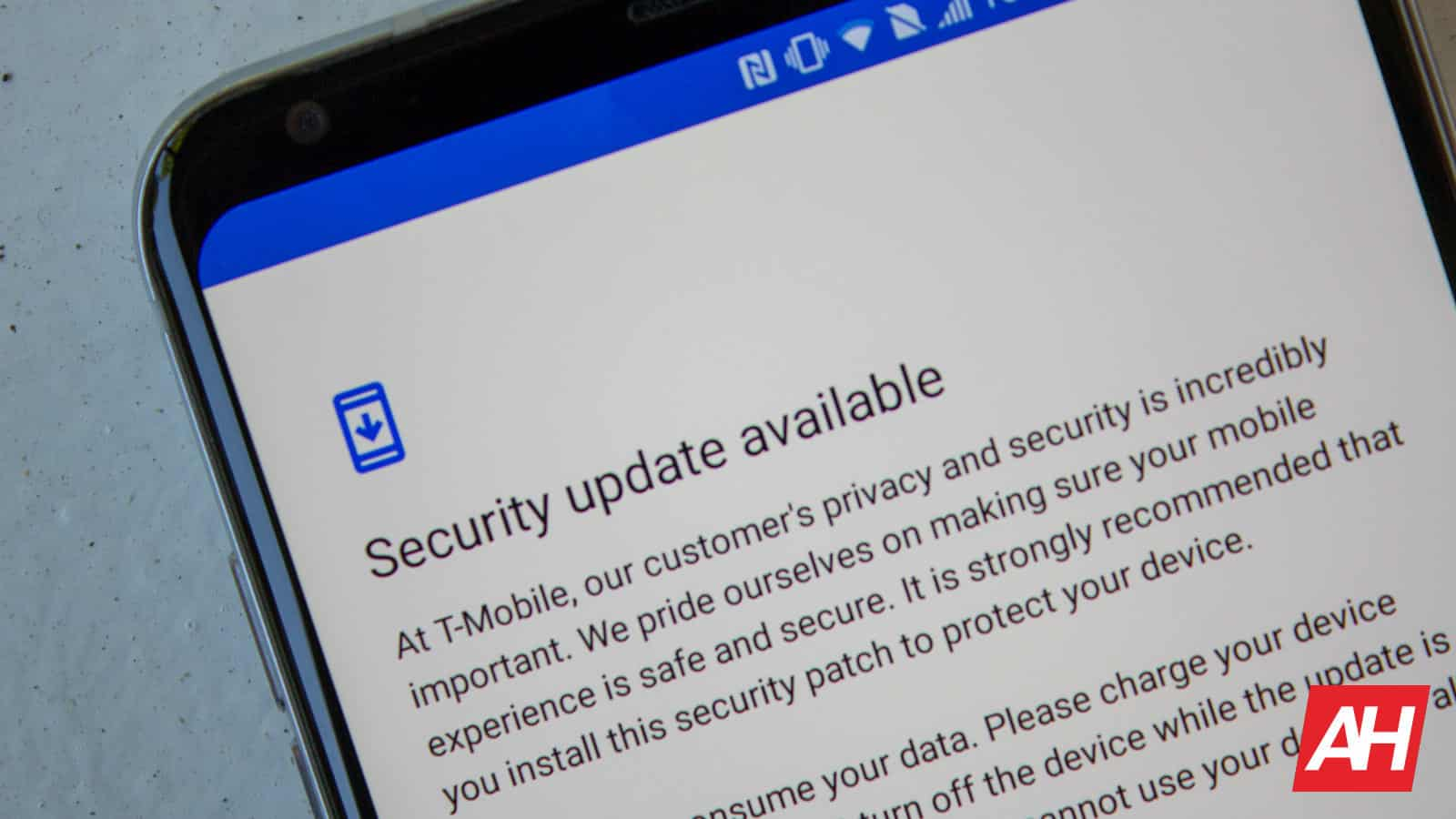 Android LG V30 T Mobile Security Update AH NS 02