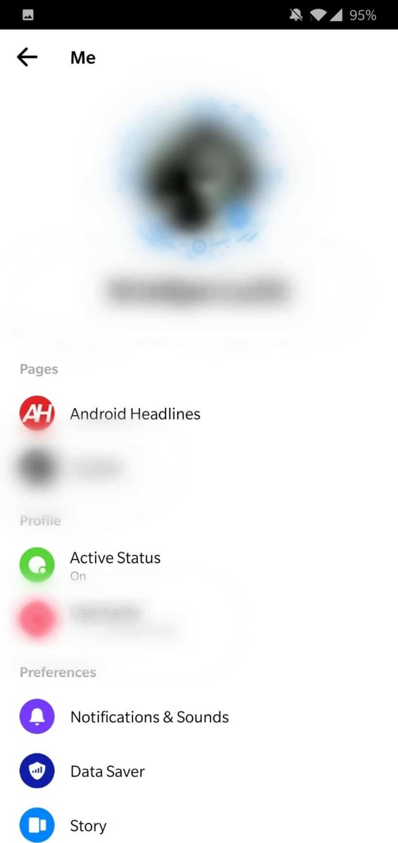 Facebook Messenger v4 redesign 2