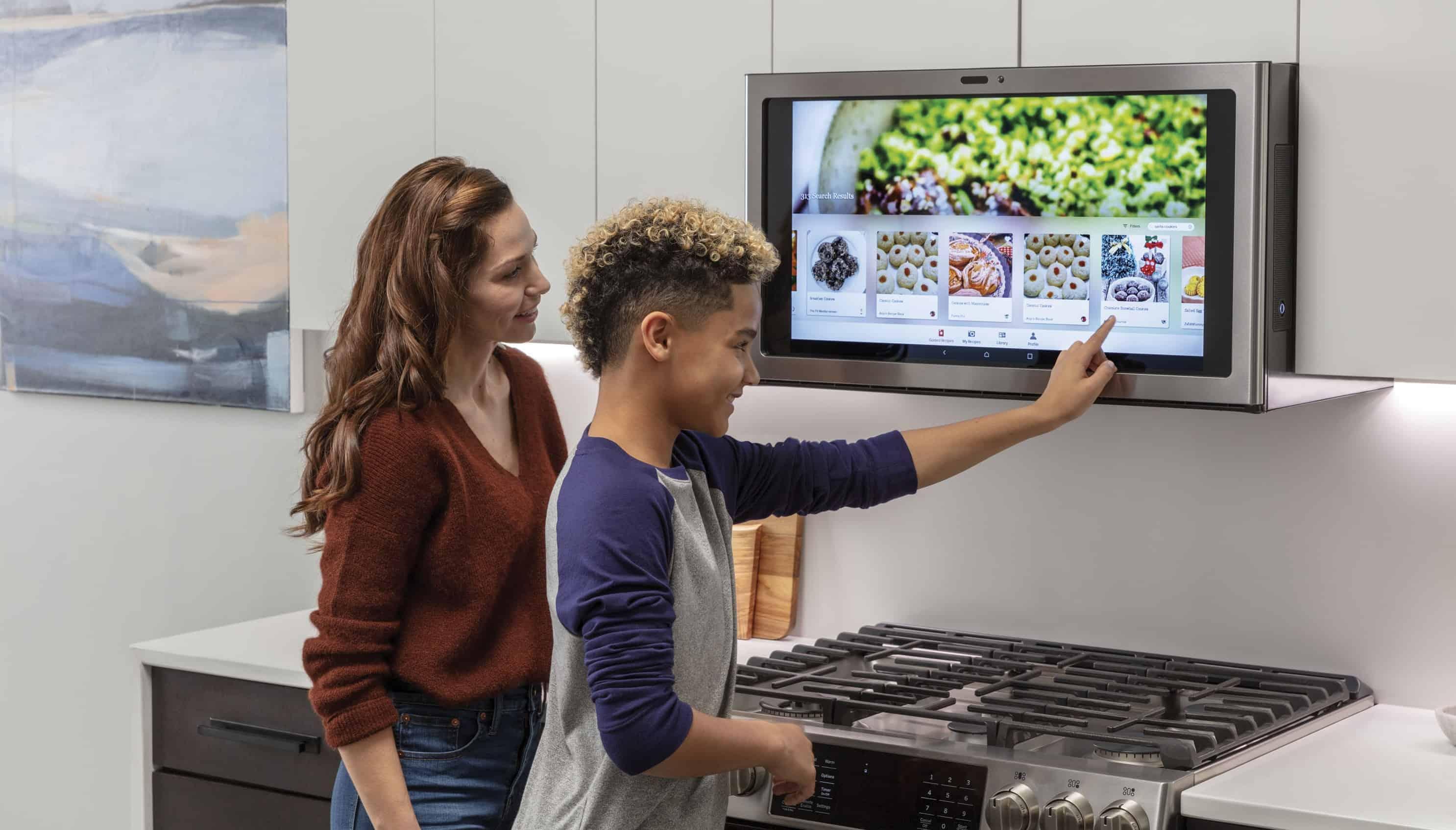 GE Kitchen Hub Lifestyle CES 2019