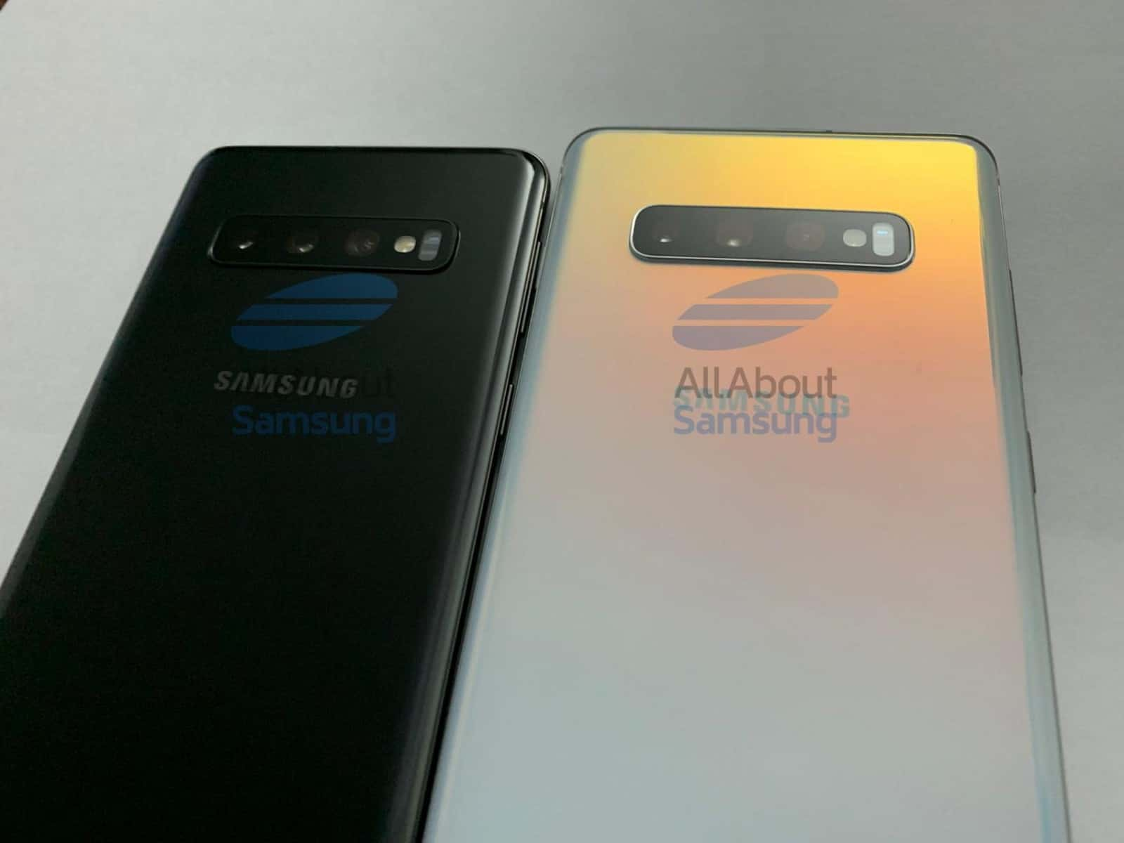 Galaxy S10 S10 real life image AllAboutSamsung 2