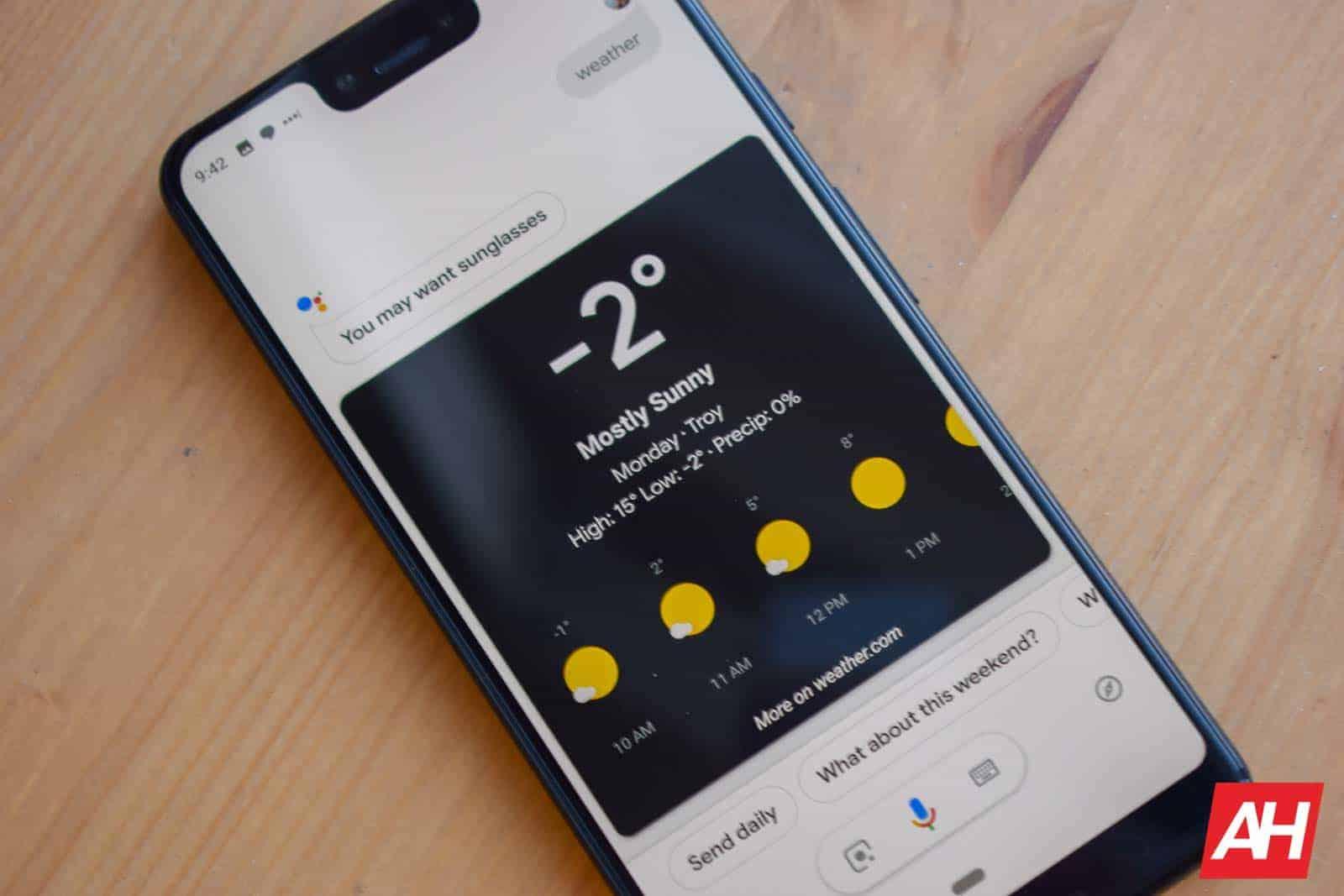 Google Assistant Faux Dark Mode AM AH 1