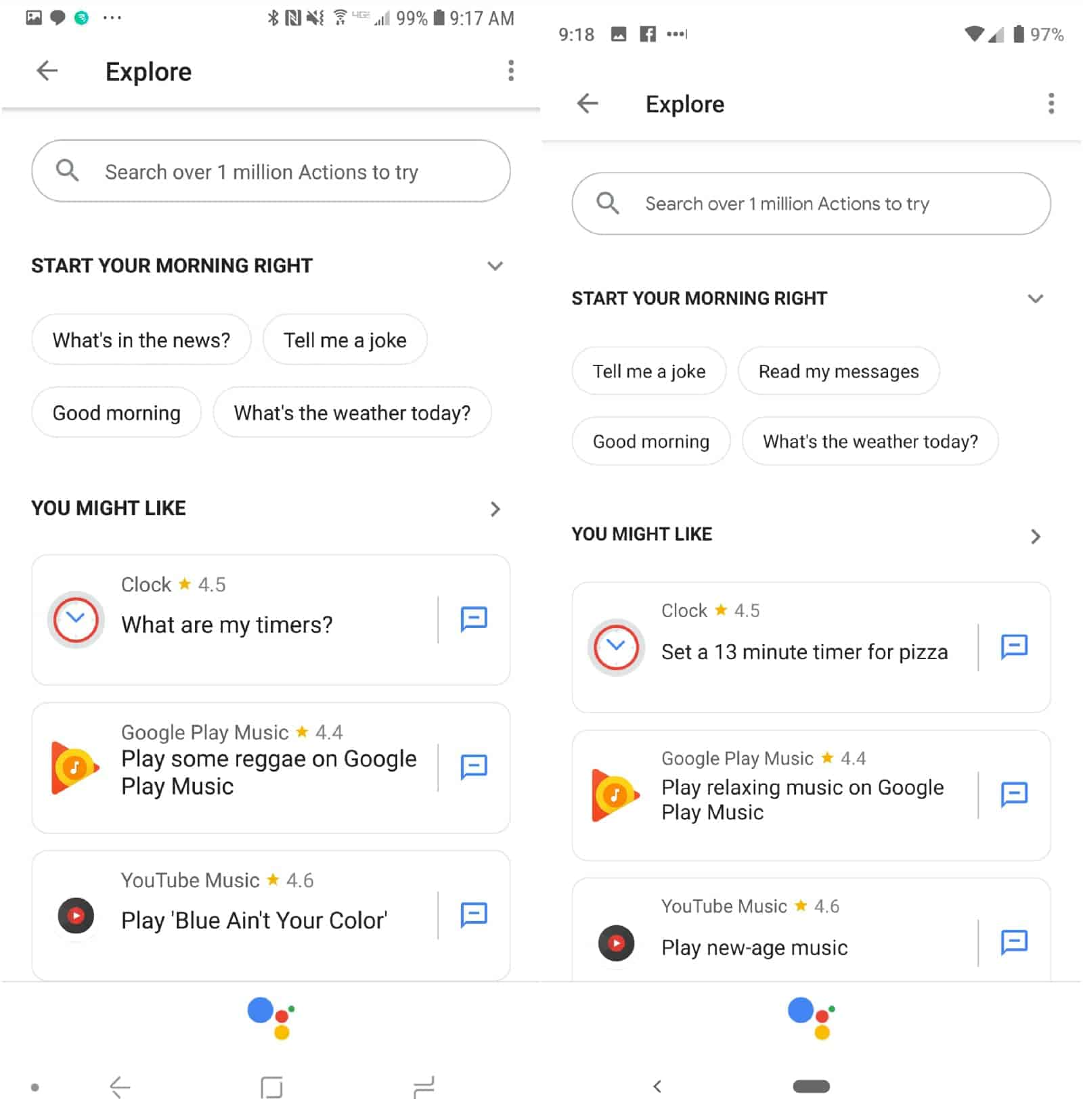 Google Assistant New UI 3 1