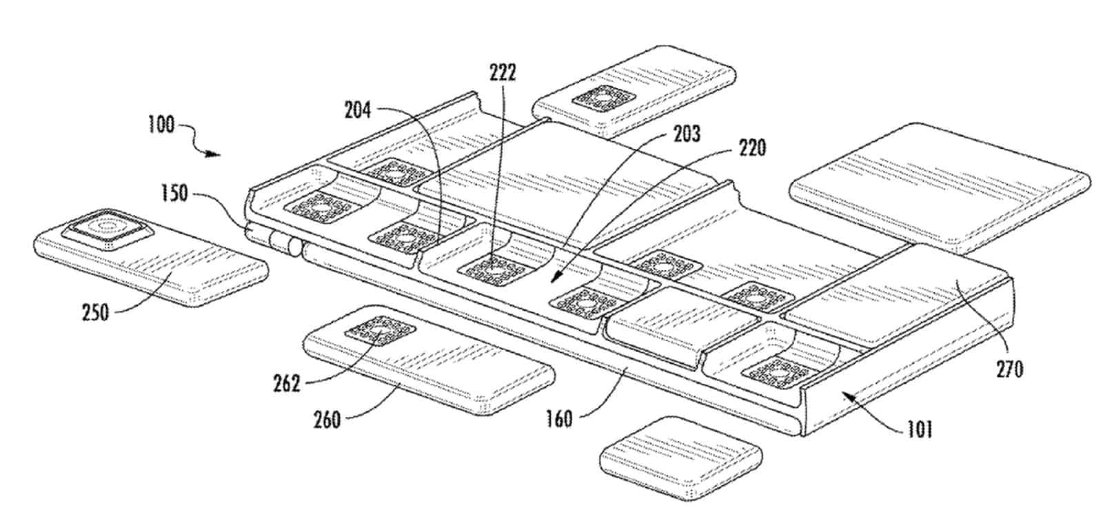 Google modular device patent January 2019 1