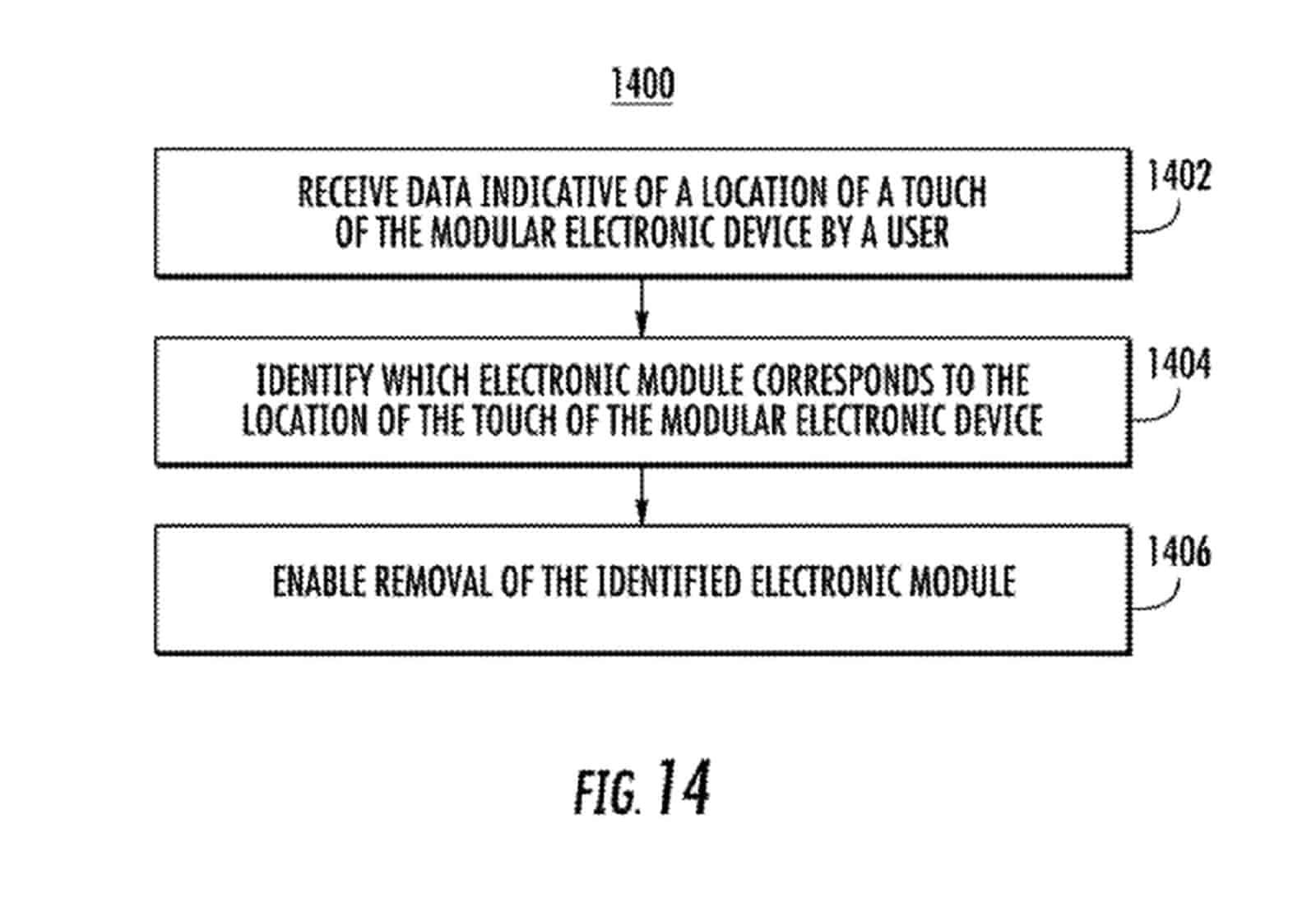 Google modular device patent January 2019 11