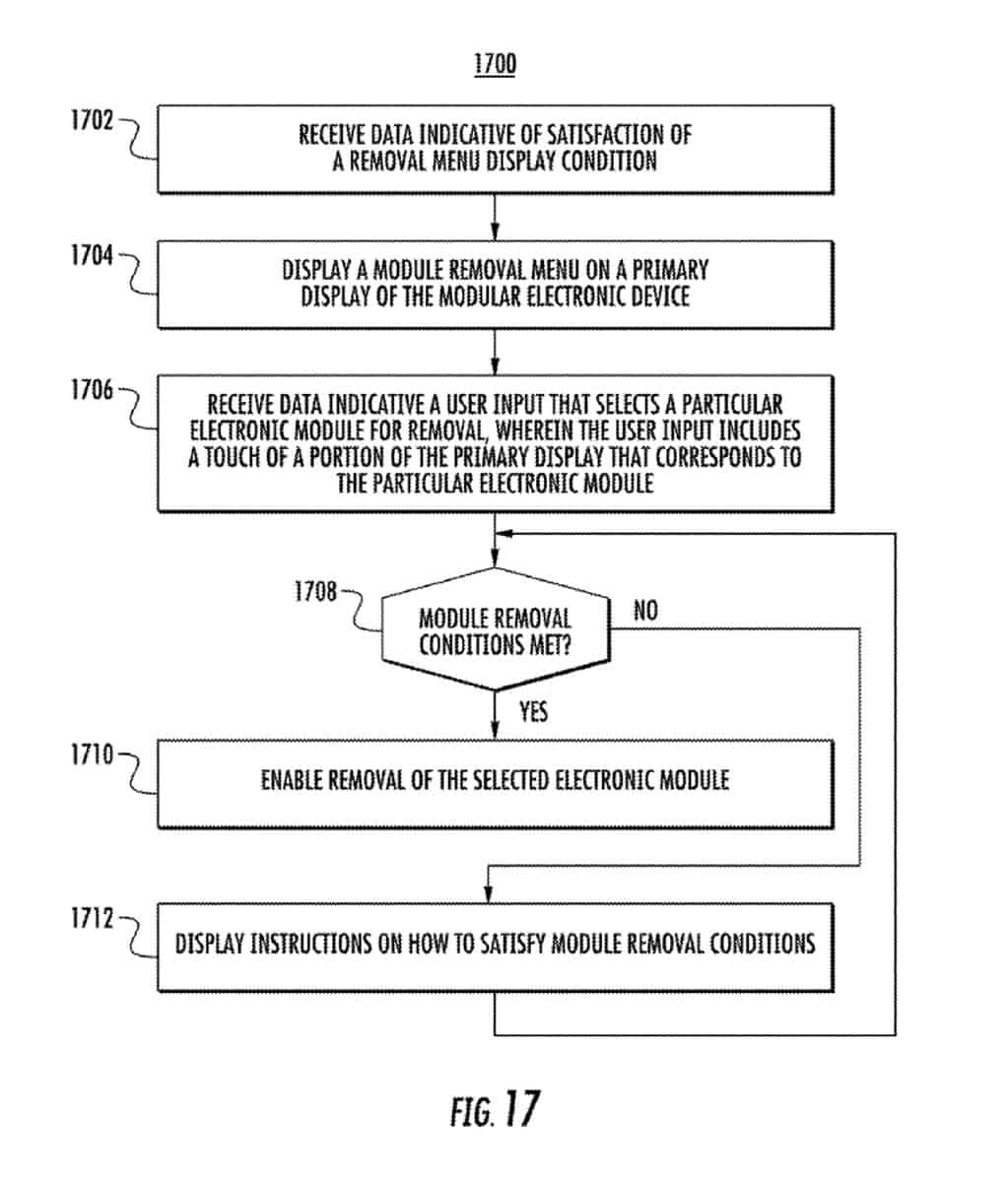 Google modular device patent January 2019 14