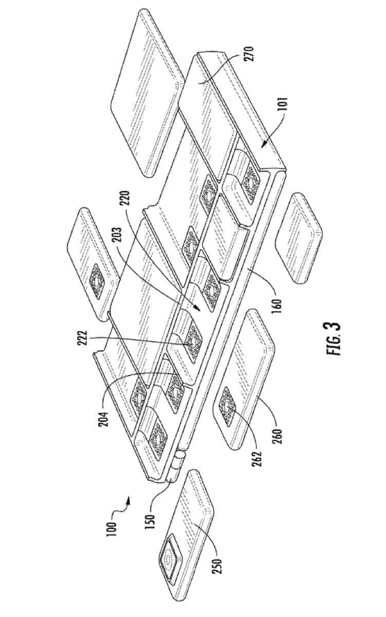 Google modular device patent January 2019 4