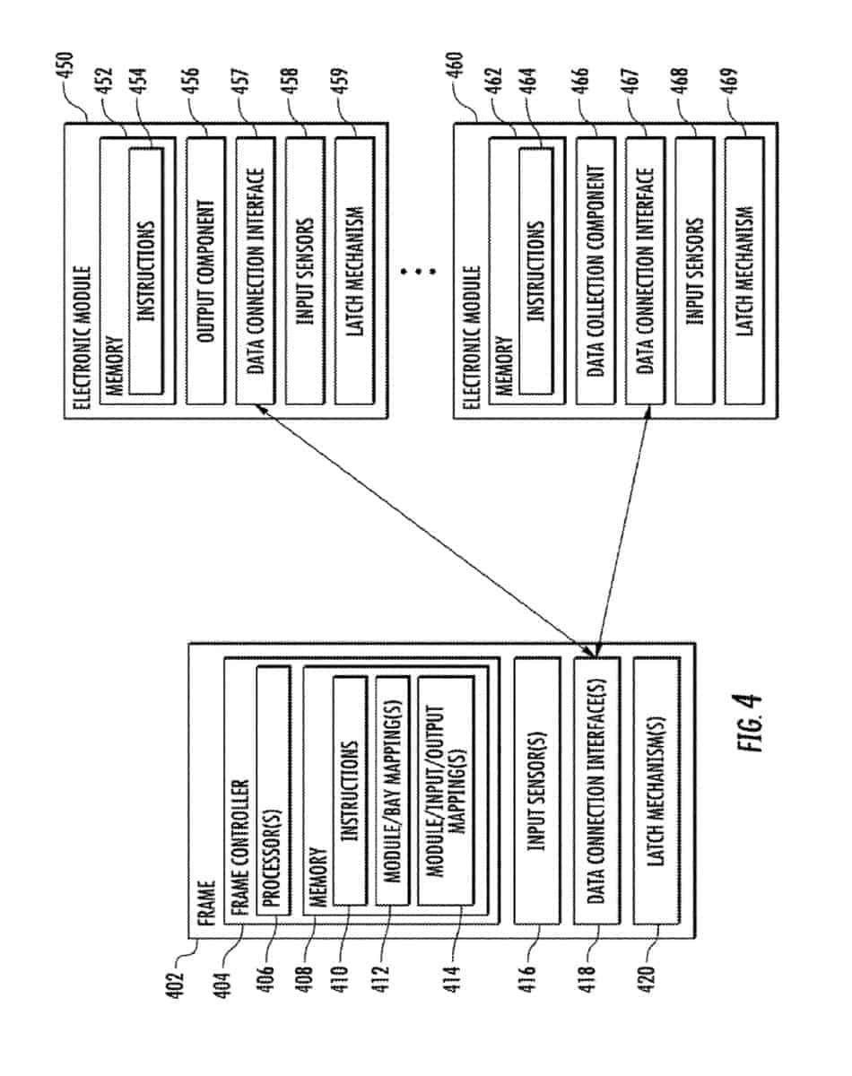 Google modular device patent January 2019 5