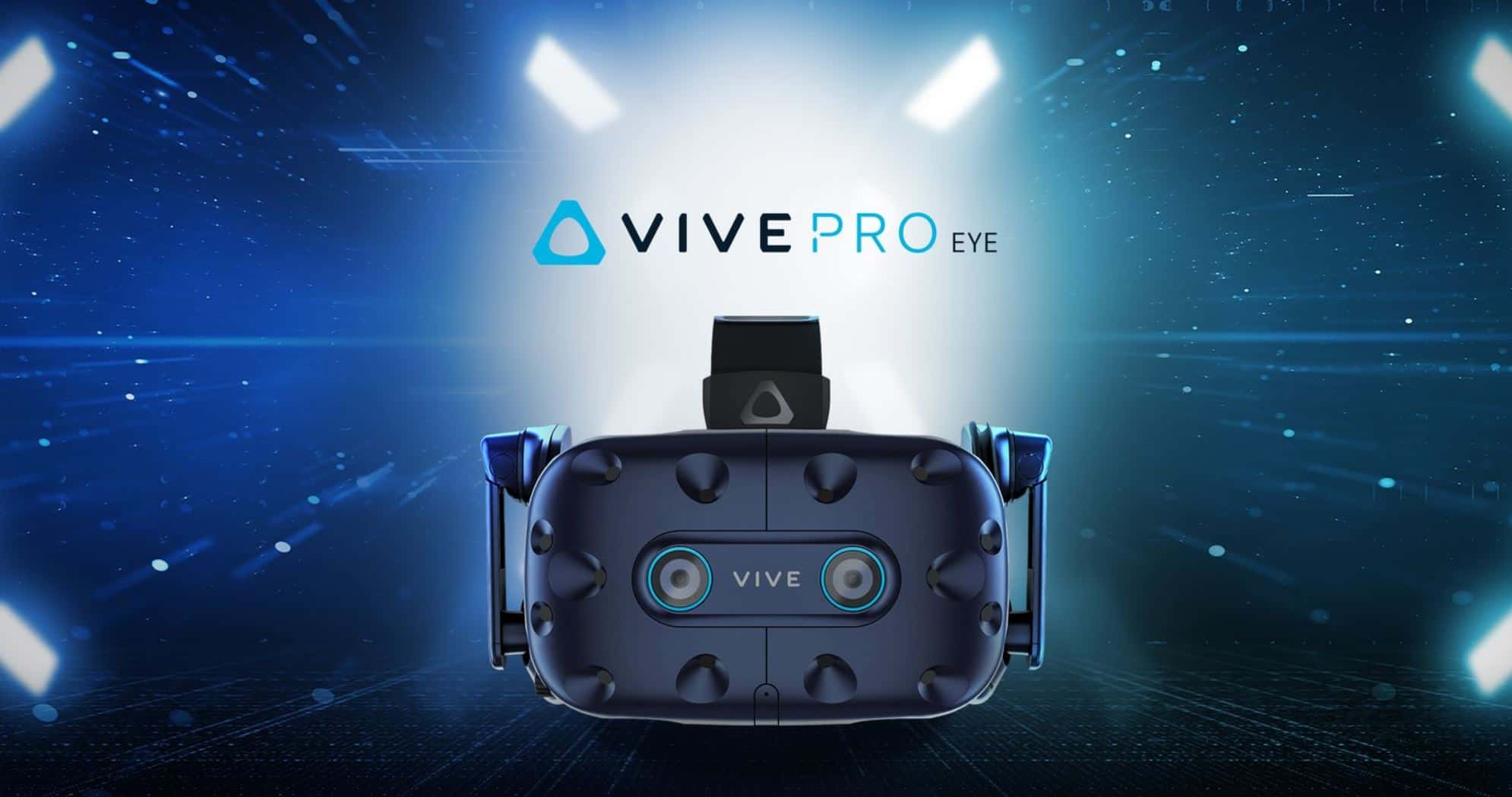 HTC Vive Pro Eye Official Render CES 2019 1