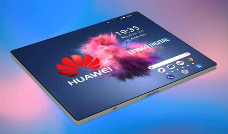 Huawei Flexible Phone Render 4