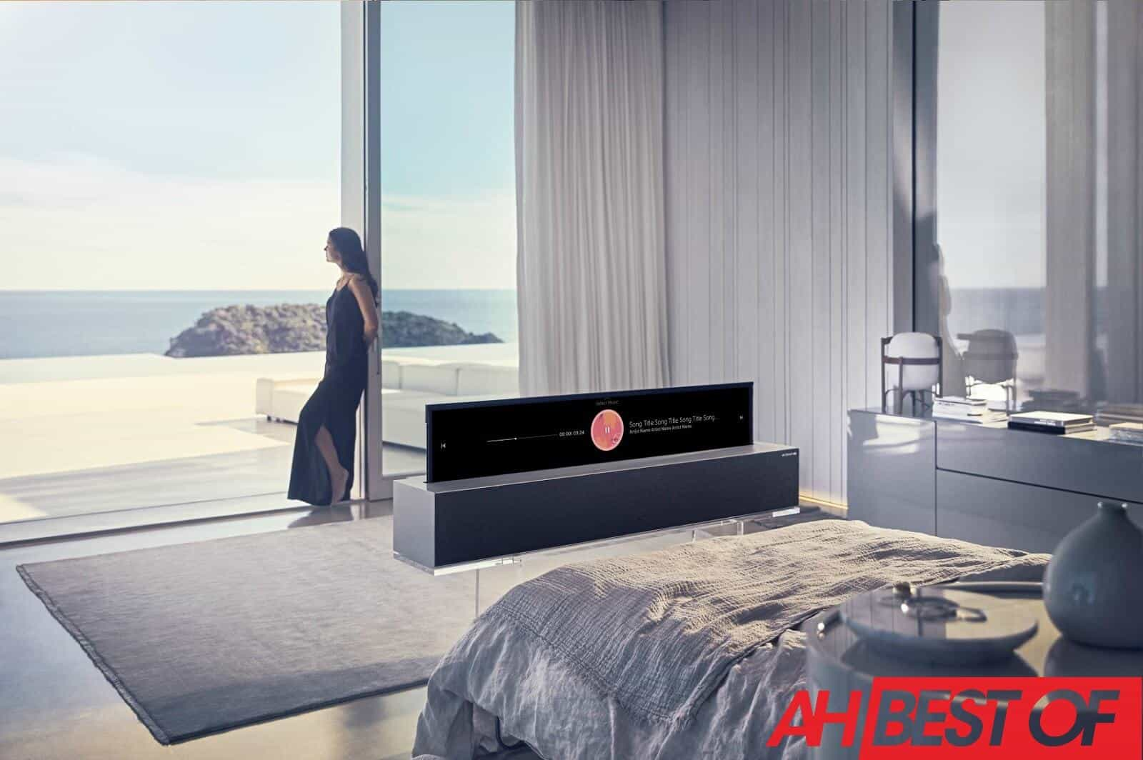 LG Rollable TV 1