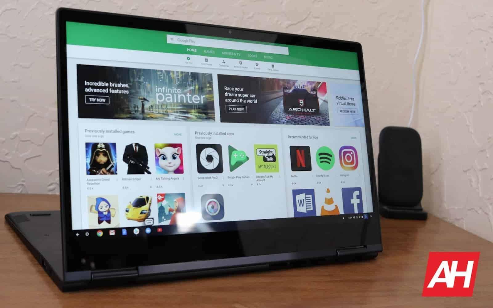 Lenovo Yoga Chromebook C630 Review Software AH 2019