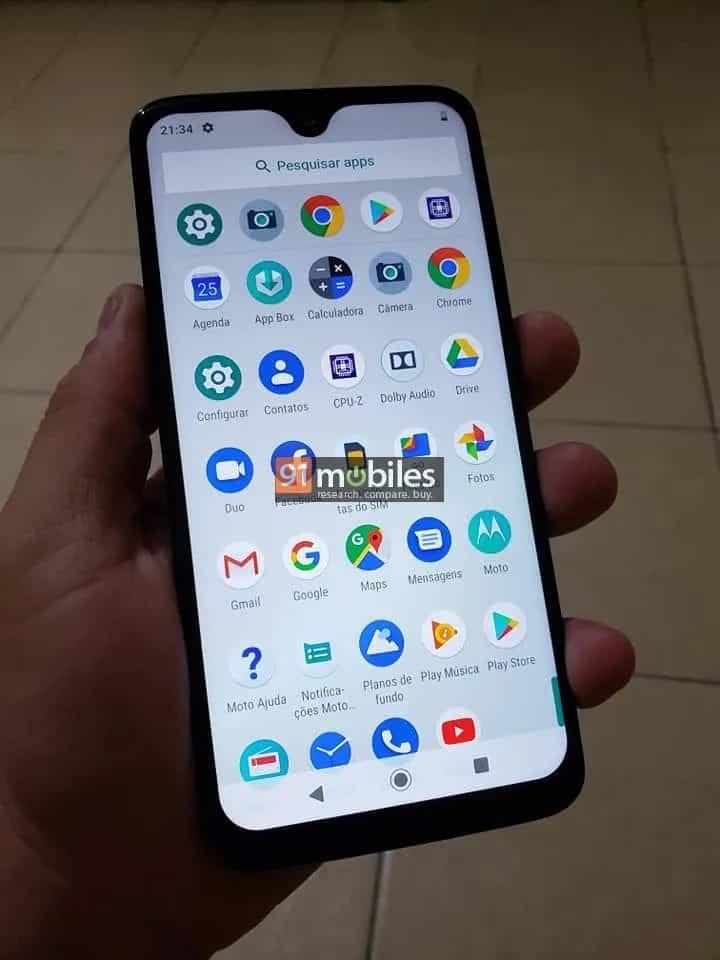 Moto G7 Plus Live Images Leak 3