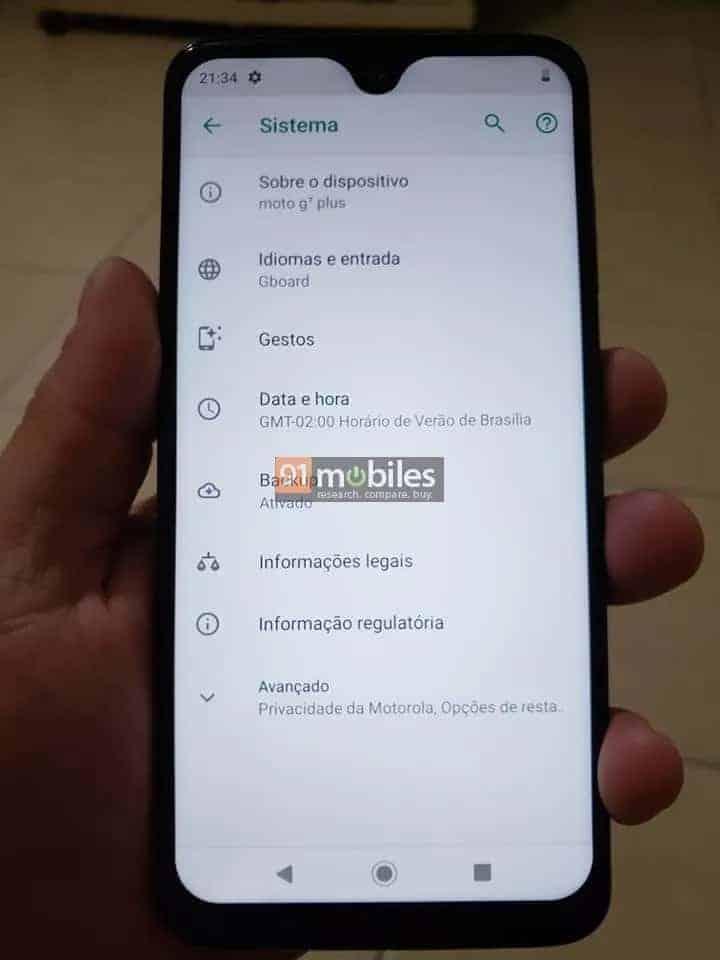 Moto G7 Plus Live Images Leak 4