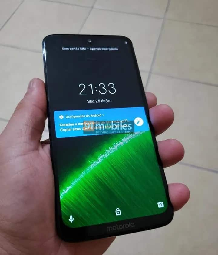 Moto G7 Plus Live Images Leak 6
