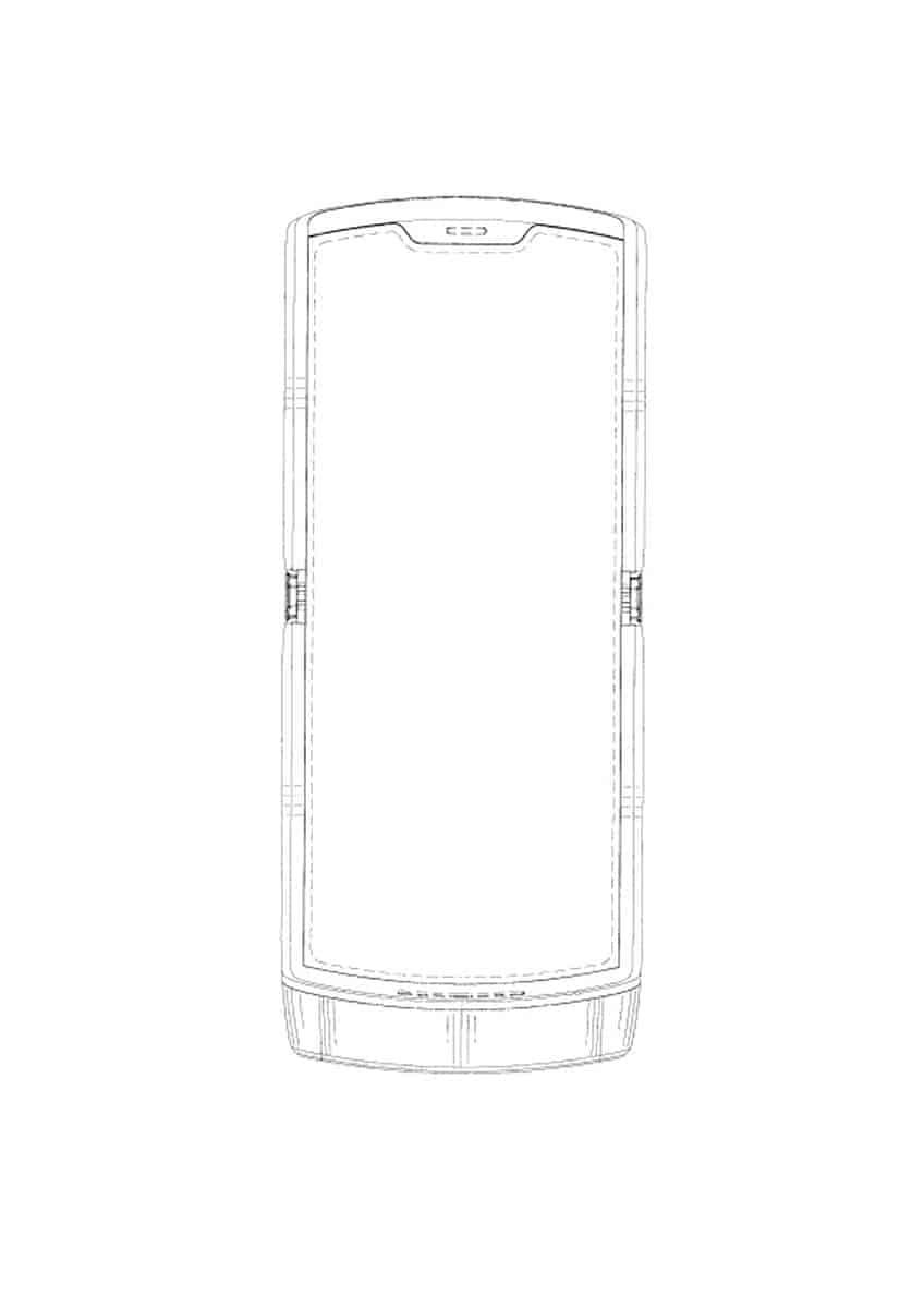 Motorola Razr foldable smartphone patent 3