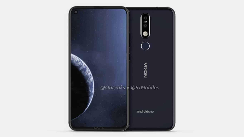 Nokia 8 1 Plus Leaked Renders 2