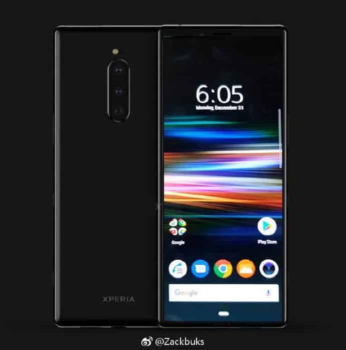 Sony Xperia XZ4 homescreen leak 3