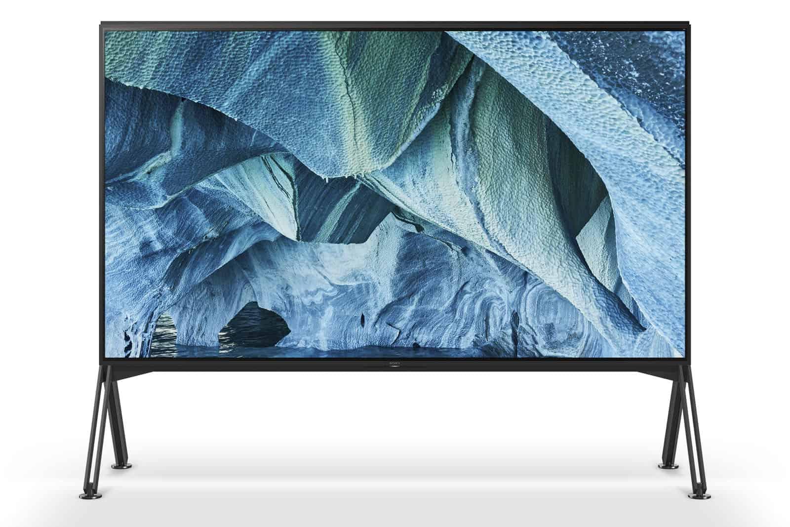Sony Z9G 8K TV CES 12
