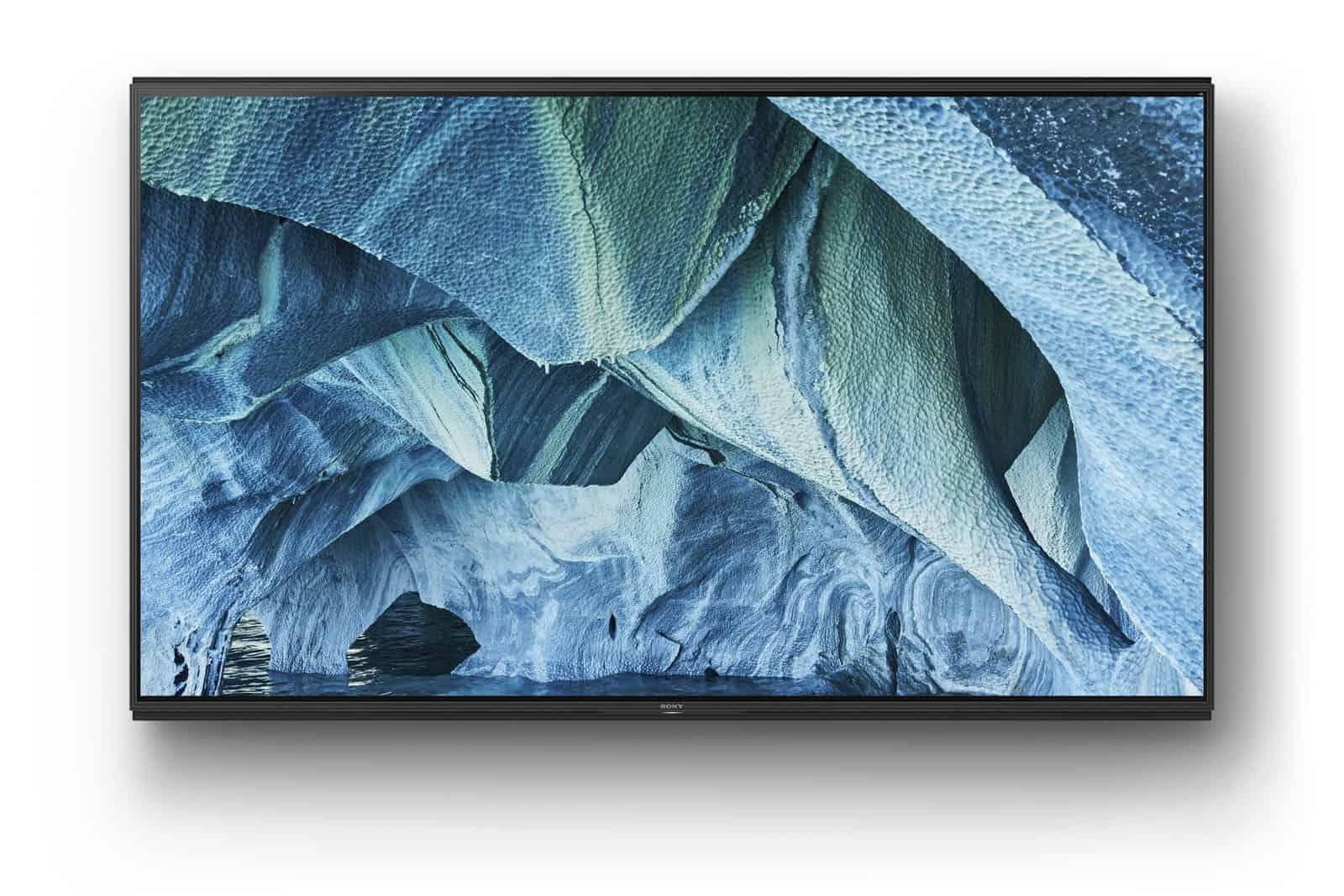 Sony Z9G 8K TV CES 6