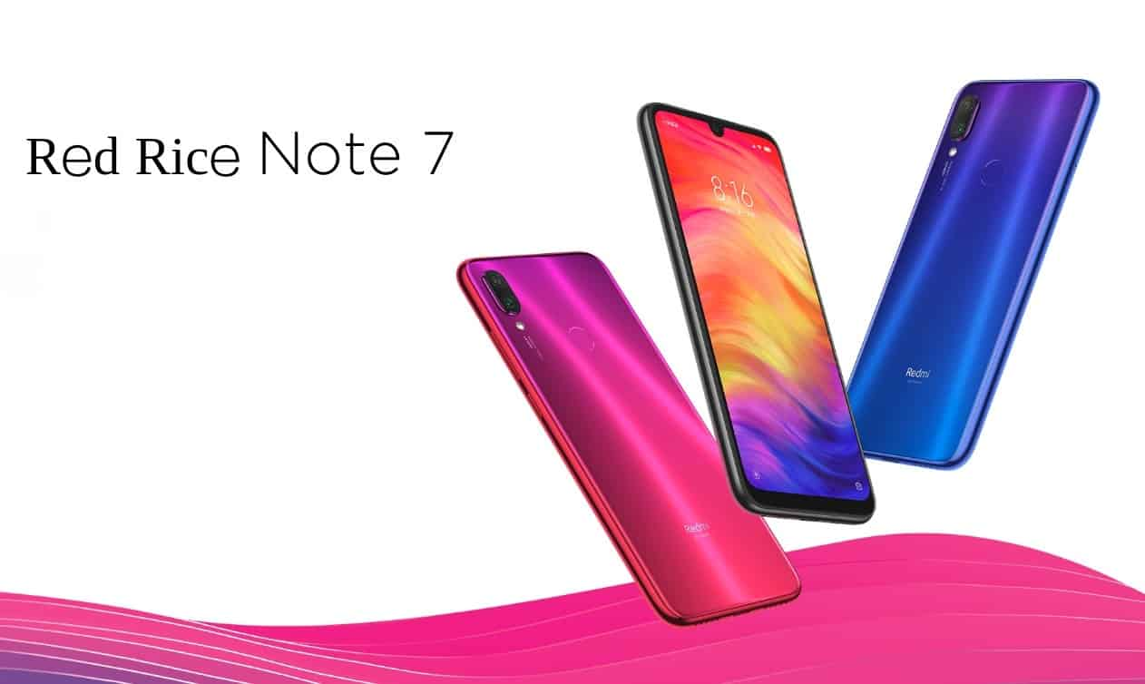 Xiaomi Redmi Note 7 official image 1