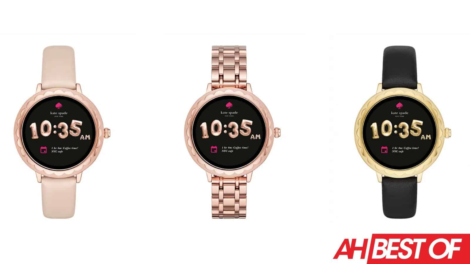 kate spade Scallop Smartwatch 2 Best of CES 2019
