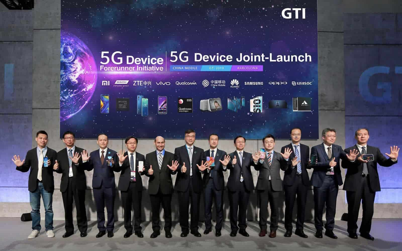 5G Device Forerunner Initiative press img from businesswire china 5G story