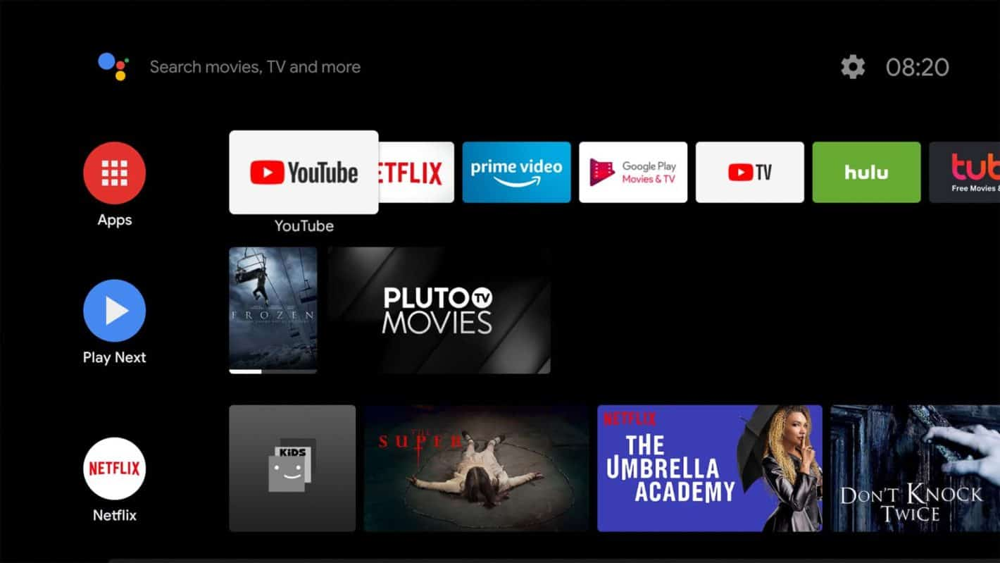Android TV Screenshot How to 1