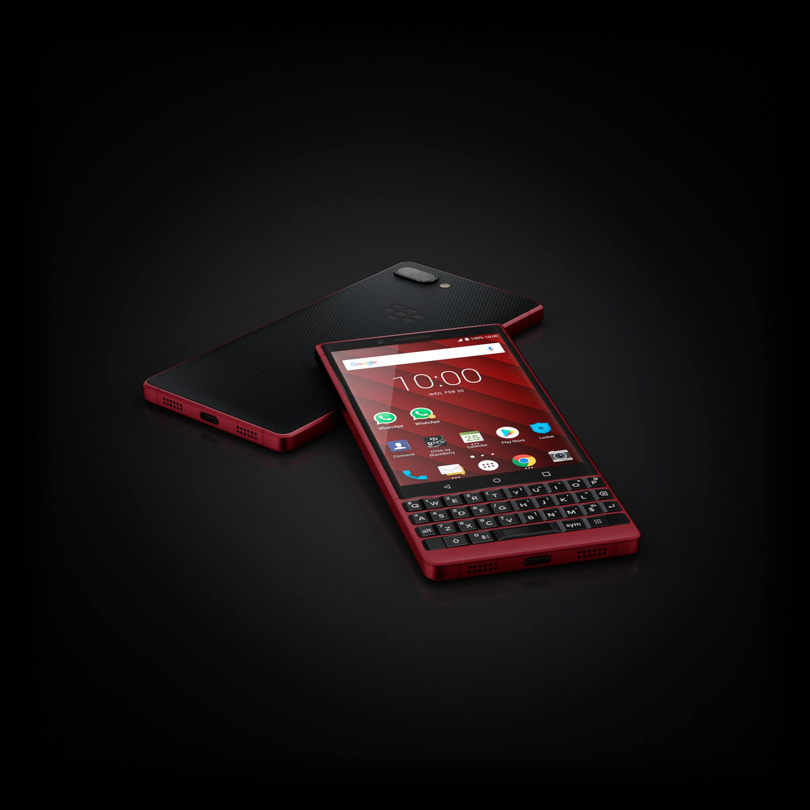 BlackBerry KEY2 Red Edition 1