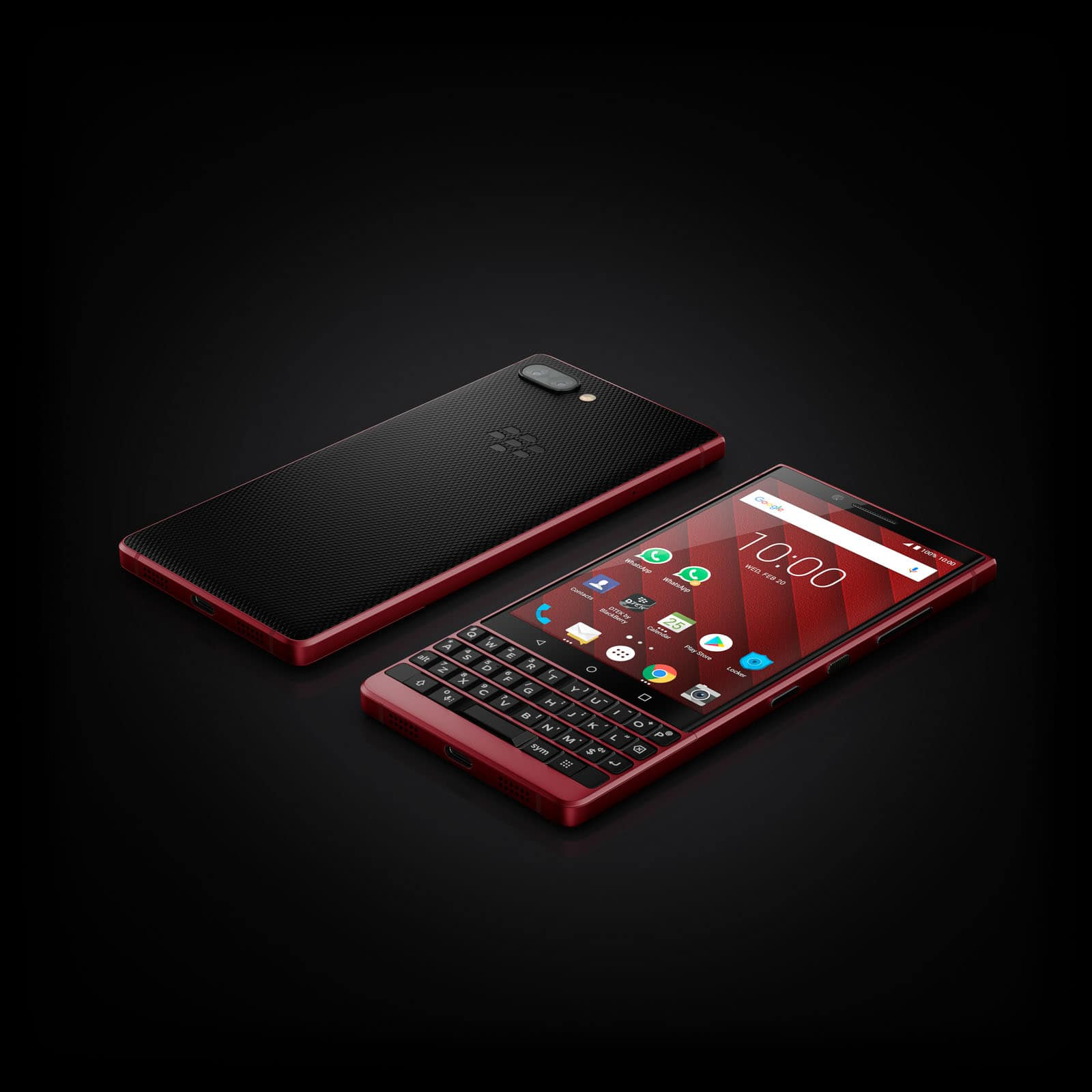 BlackBerry KEY2 Red Edition 12