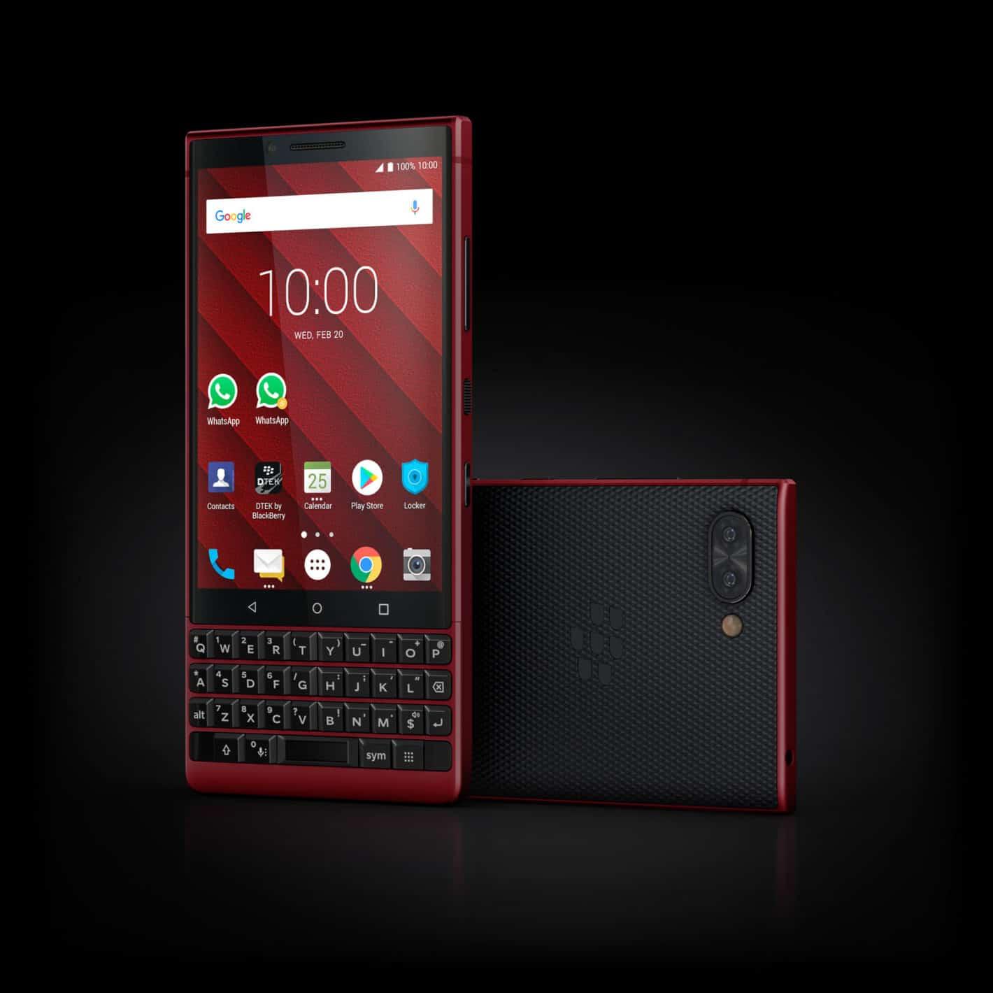 BlackBerry KEY2 Red Edition 9